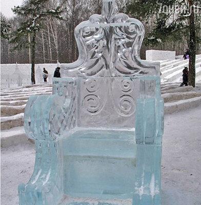 Снежный городок «Ледниковый период»