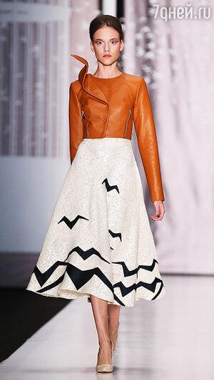 ������ ������ Dasha Gauser � ������ Mercedes-Benz Fashion Week