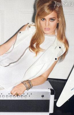 Британская модель Джорджия Мэй Джаггер. 2013 г.