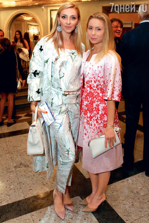 Татьяна Навка с дочерью Сашей