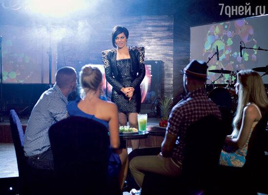 Катя Гусева на съемках фильма«12месяцев»