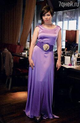 Гусевой понравился образ женщины-вамп