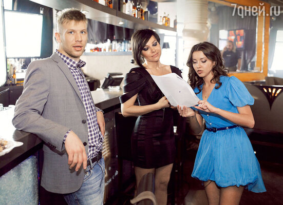 Герой Ивана Дорна влюблен в главную героиню. СКатей Гусевой иАлесойКачер