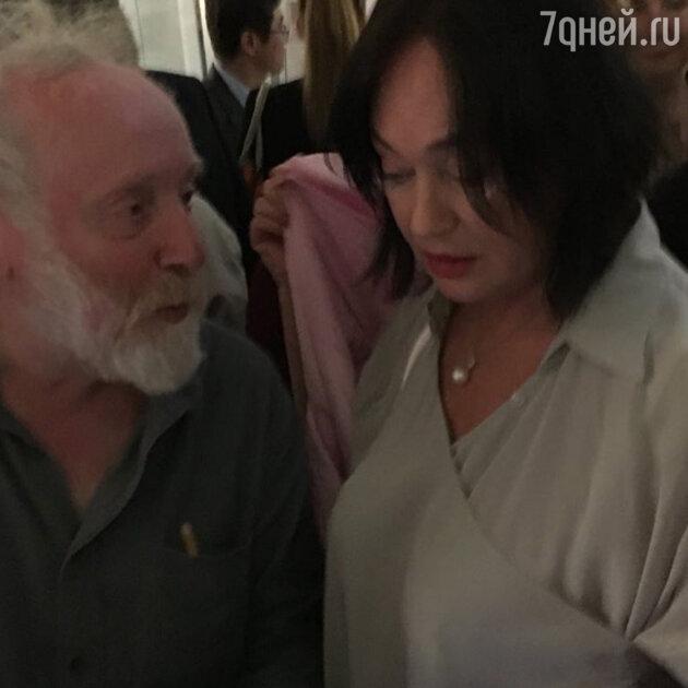 Лариса Гузеева и Юрий Норштейн