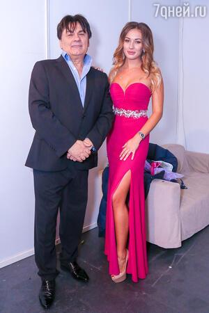 Александр Серов с дочерью Мишель