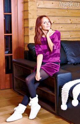 Велюровые спортивные платья и костюмы — слабость МакSим