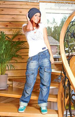 Мужские джинсы появились в гардеробе МакSим случайно, но поселились надолго