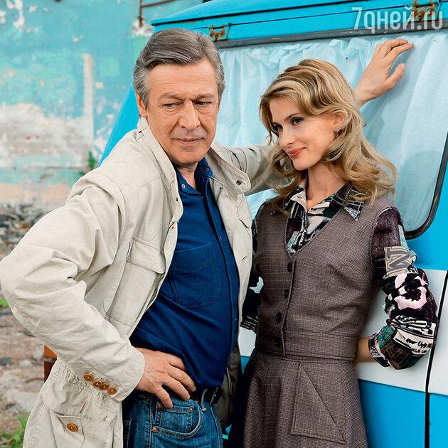 Светлана Иванова с Михаилом Ефремовым