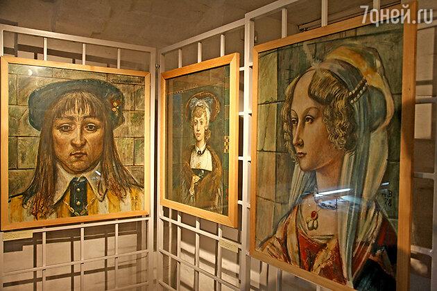 Портреты, написанные Александром Васильевым-старшим в 70-х годах