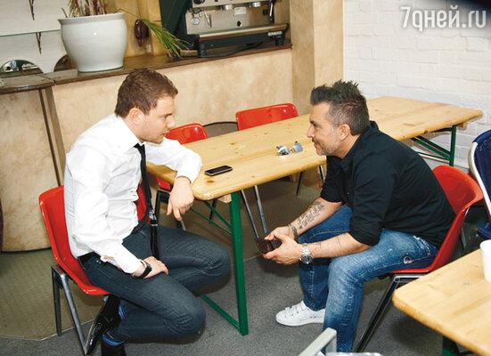 Встретившись в Лондоне на съемочной площадке, DJ Smash и Гаудино не могли наговориться