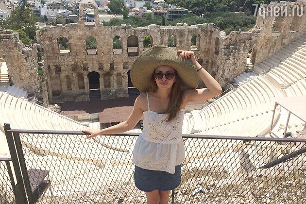 Анжелика Каширина в Греции