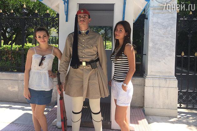 Анжелика Каширина и Юлия Паршута в Греции