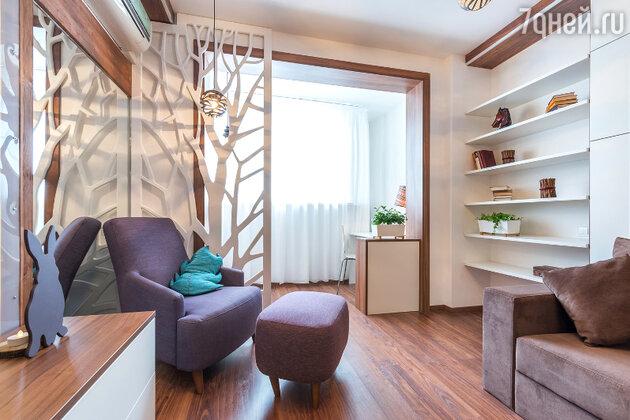 Идеи для дизайна: как сделать из одной комнаты с лоджией целых три