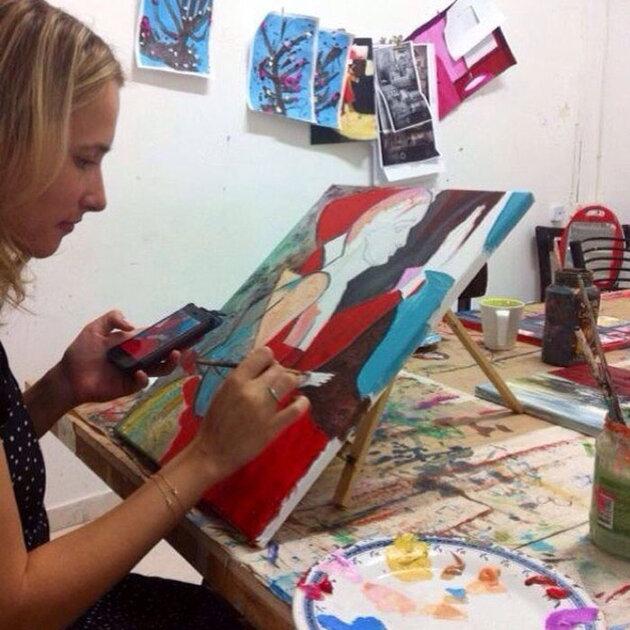 Мария Кравцова(Марика) на отдыхе в Израиле