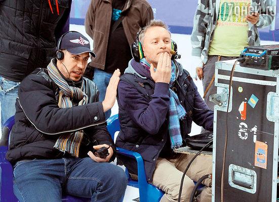Дмитрий Дюжев снял как режиссер часть картины про Бережную иСихарулидзе. С оператором Эдуардом Мееровичем