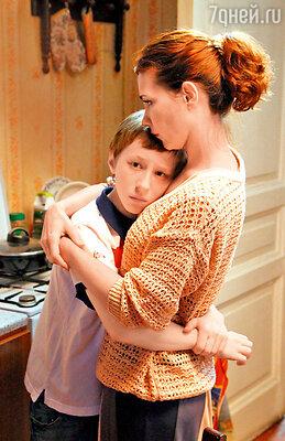 Екатерина Климова играет маму перспективного мальчика-хоккеиста