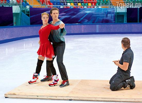 Татьяна Арнтгольц и Константин Крюков играют олимпийских чемпионов Елену Бережную и Антона Сихарулидзе