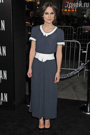Кира Найтли в платье Chanel