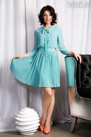 Анастасия Макеева в платье Kira Plastinina