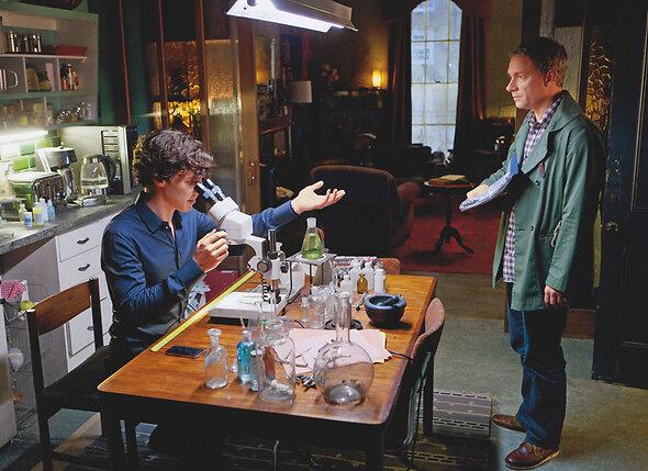 Авторы совсем не были уверены, что Мартин Фримен впишется в их историю про Шерлока Холмса и доктора Ватсона. С Бенедиктом Камбербэтчем