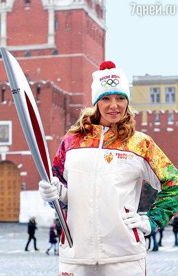Татьяна Навка всегда ступает на лед с левой ноги