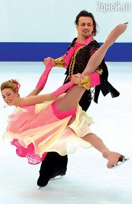 Илья Авербух и Ирина Лобачева. Гран-при по фигурному катанию. Санкт-Петербург, 2003 г.