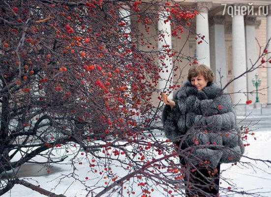 Столько лет прошло. Забылись обиды, измены... Вспоминается только Новый год и цветущая вишня в снегу...
