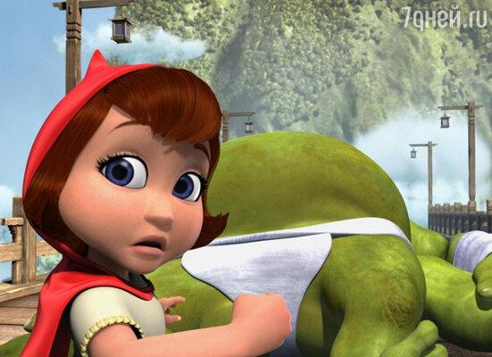 Кадр фильма «Красная Шапка против Зла»