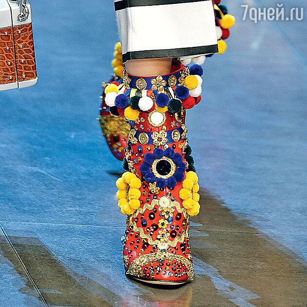 Модель из коллекции «Dolce&Gabbana»