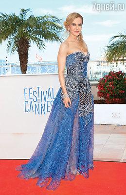 На премьере фильма «Принцесса Монако». Каннский кинофестиваль. Май 2014 г.