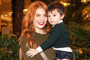 Анастасия Стоцкая привела трехлетнего сына на Fashion Day 2014