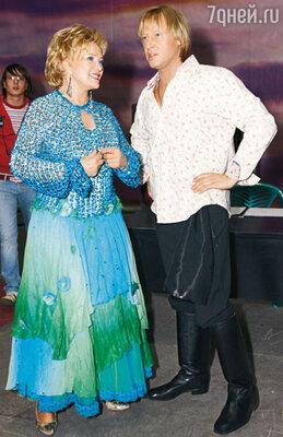 Екатерина Шаврина и Дмитрий Харатьян пели в разных дуэтах, но за сценой конкуренции было не место