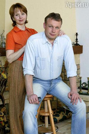 Сергей Жигунов с женой Верой