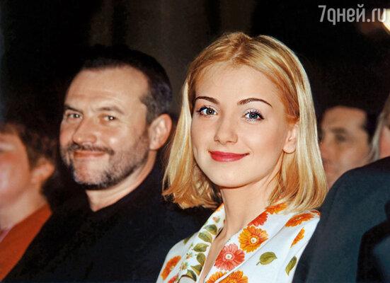 С режиссером Алексеем Учителем на премьере фильма «Дневник его жены»