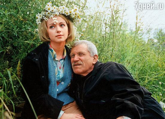 С режиссером Александром Миттой на съемках фильма «Граница. Таежный роман»