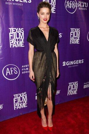 Эмбер Херд в платье от Ulyana Sergeenko на церемонии Texas Film Awards