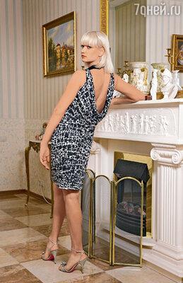 Платье с открытой спиной Хоркина по случаю прикупила в Италии, а «выгуливала» его на Олимпиаде в Пекине