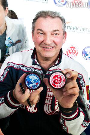 Владислав Третьяк на презентации Зала Хоккейной Славы