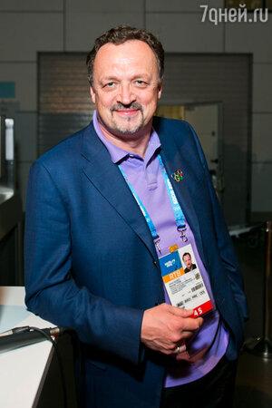Виктор Гусев на презентации Зала Хоккейной Славы