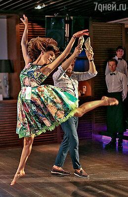 После участия в проекте «Танцы со звездами» Подкаминская может исполнить любое па