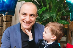Михаил Турецкий удивил своего двухлетнего внука