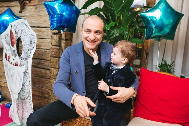Михаил Турецкий с внуком Ваней