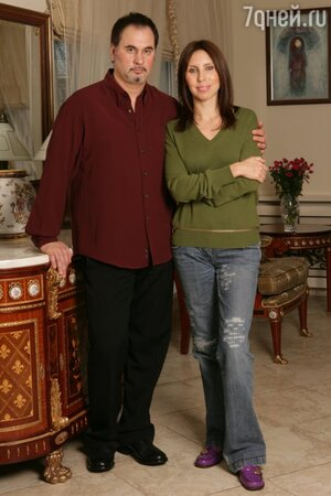 Валерий Меладзе с супругой Ириной