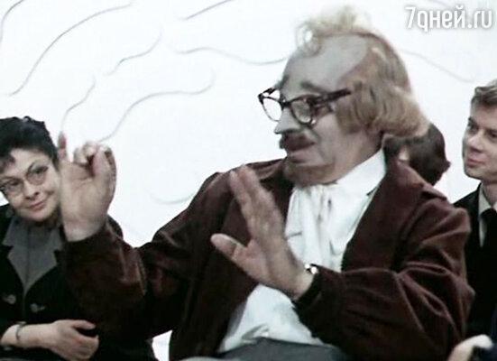 Аркадий Райкин в новелле «Показ мод» в фильме «Вчера, сегодня и всегда». 1969 год