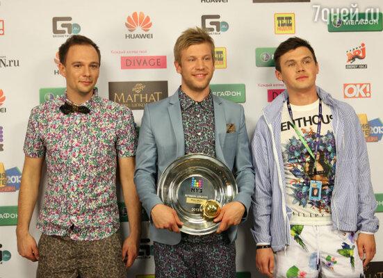 Иван Дорн, Юрий Грицак и Роман Мясников