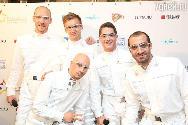 Участники конкурса «Пять звезд» группа invOis