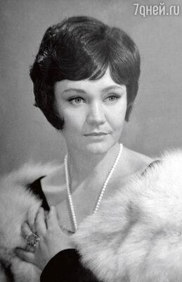 «Если бы я не ушла вманекенщицы, никогда непопала бы в кино». 1960 г.