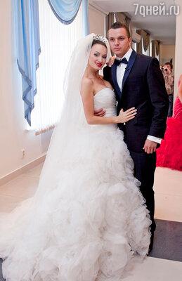 Бракосочетание Евгении Феофилактовой и Антона Гусева