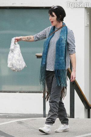 Лина Хиди на шопинге