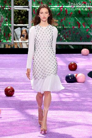 Показ Christian Dior